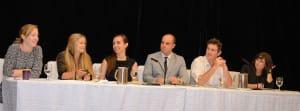 Kate Kroll speaking at UN PRI Panel